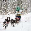 Spirit takes Iditarod Musher Charley Bejna's team for a spin.