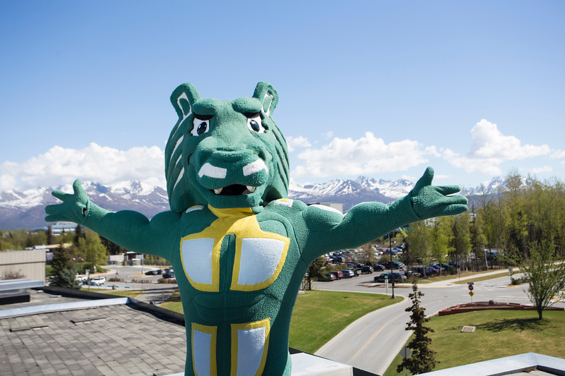 Spirit on the campus of the University of Alaska Anchorage.