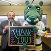 "Spirit hooks up with Chancellor Sam Gingerich to celebrate Alumni Giving to the University of Alaska Anchorage  <div class=""ss-paypal-button"">20171006-Sam-and-Spirit-TEK-001.JPG</div><div class=""ss-paypal-button-end""></div>"