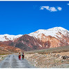 En route Losar, from Kaza