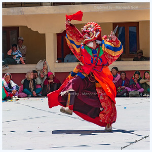 Kungri Monastery (Pin Valley) Festival - Cham Dance Performance