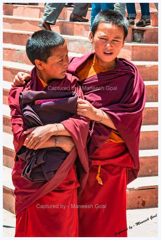 Friends @ Kungri Monastery (Pin Valley) Festival