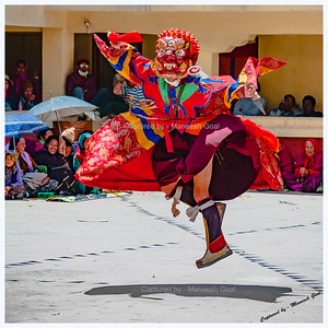 Leap of Faith | Kungri Monastery (Pin Valley) Festival - Cham Dance Performance