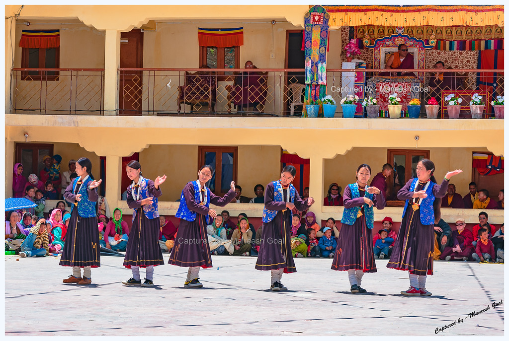 Kungri Monastery (Pin Valley) Festival - Traditional Himachali Dance Performance