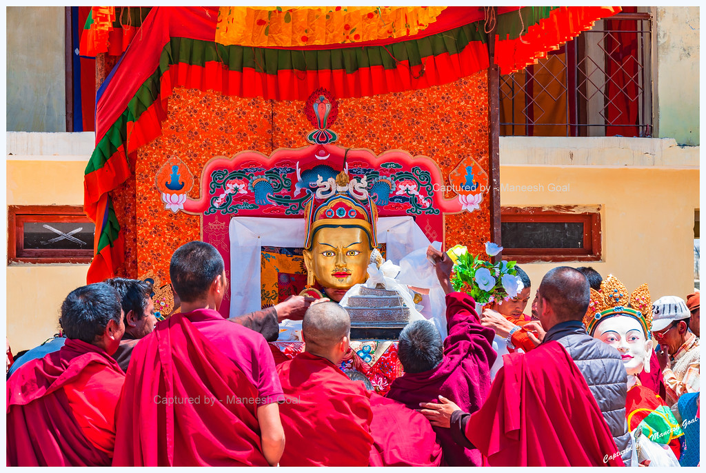 Seeking Lord's Blessings @ Kungri Monastery (Pin Valley) Festival