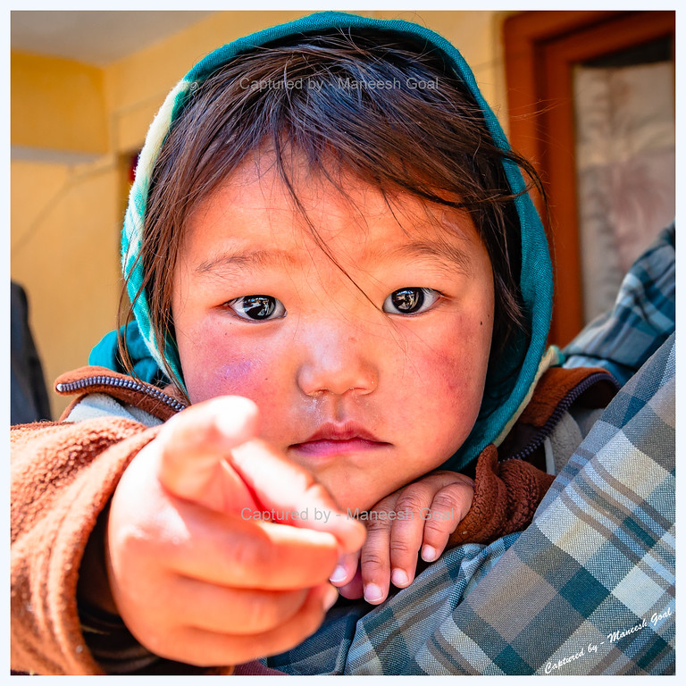 Look at Her Eyes !!! | Kungri Monastery (Pin Valley) Festival