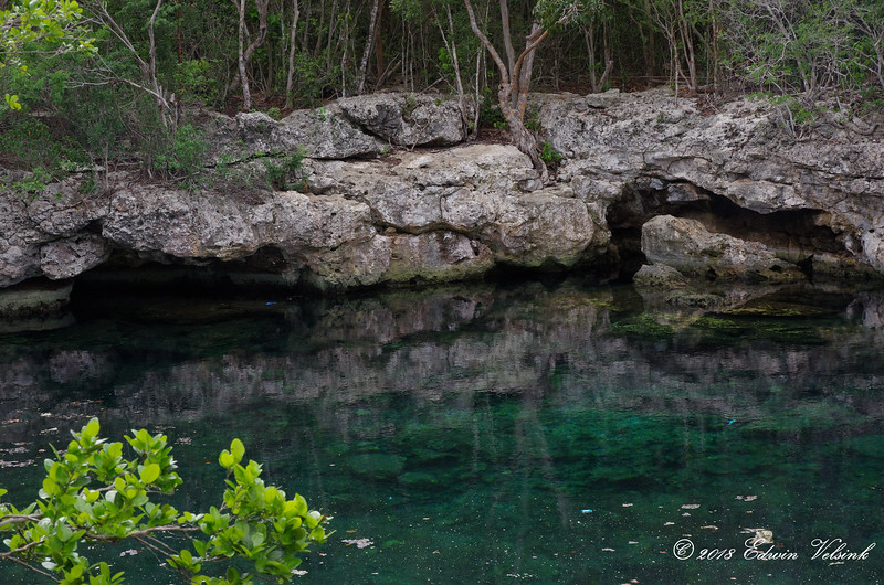 Preparing for the second dive of the day in this beautiful cenote