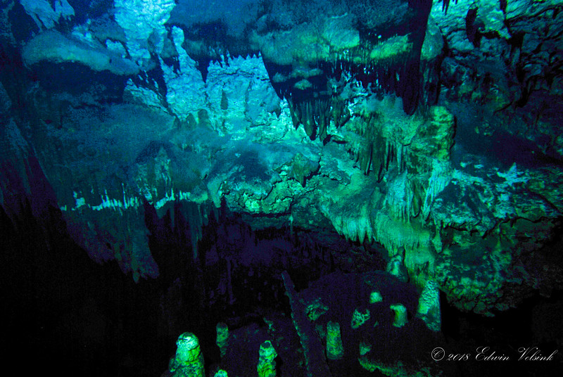 Tangue Azul is the biggest flooded Cave of Cuba