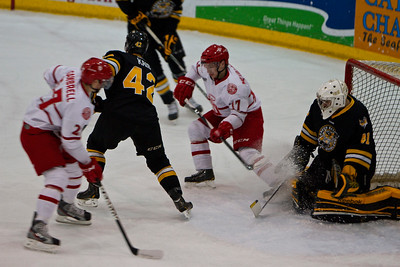 Dubuque Fighting Saints vs Green Bay Gamblers 1/5/13