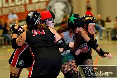 Quad City Rollers - Derby de los Muertos