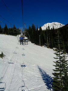 lift on Mt. Shasta