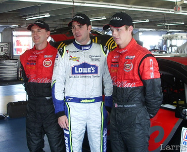 Andy Pilgrim, Jimmy Johnson and Lawson Aschenbach
