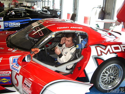 Tommy Archer in his Dodge Viper