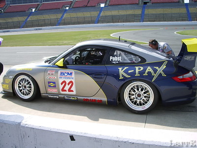 #22 Porsche of Randy Pobst