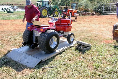 all tractors get weighed in before a run