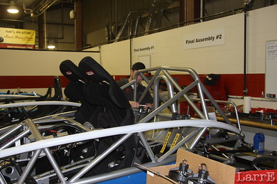 cage is a strong tube chassis