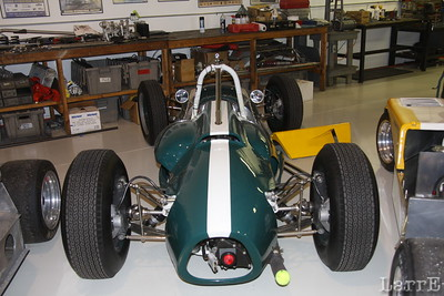 the Cooper formula one car.
