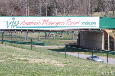 We're at V I R, Virginia Motorsports Resort...sports car track....for a test session April 9th 2013