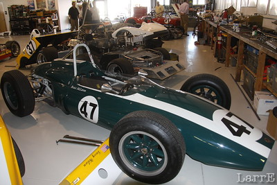 this is a Bruce McLaren formula one that Bruce took back to New Zealand and raced.