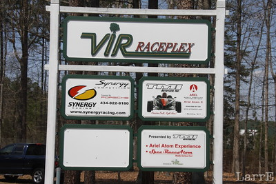 V I R has an industrial park with race related business on the property.