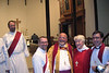 Tim on the leftwith another new deacon, Bishop Mauricio Andrade of the Diocese of Brasilia, our own Bishop Cate, and