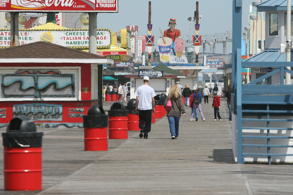 Spring Time At Seaside Heights