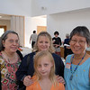 Grace with Pamela, Sandy, and Yvonne