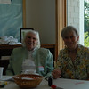 Ruth and Marge at the Welcome Table