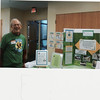 Gene works the Saint David's booth, Earth Day 2011
