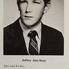 Jeffrey Bean, senior portrait from the St. Bernard's Class of 1970. SENTINEL & ENTERPRISE / Ashley Green
