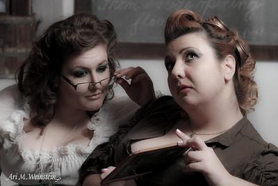 Models: Georgia & Elena