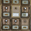 Globe/Roger Nomer<br /> Post office boxes at the Stella Post Office show their age the dwindling population of the town.