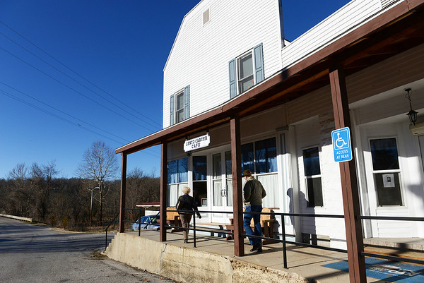 Globe/Roger Nomer<br /> Today, the Lentz and Carter Mercantile Store is the Lentz-Carter Cafe, restored by the Dalboms, and has been placed on the National Historic Registry.
