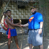 Meeting the Aeta the original people of the Phillipines at Subic Bay, Philippines