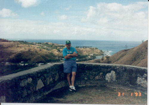 One of the overlooks at the southern tip of Guam