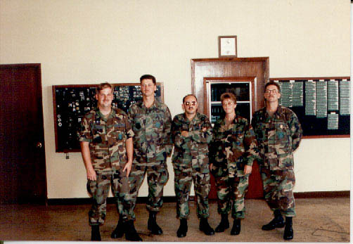 The crew and I at Andersen air base in Guam