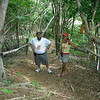 Even and I taking a break from climbing a huge hill at Club Paradise in Palawan, Philippines
