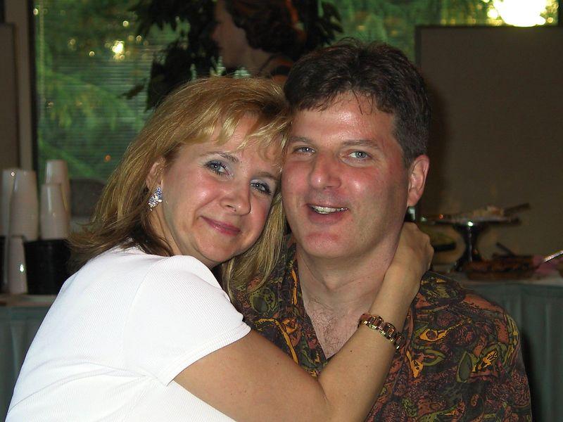 Steveston High 25 year reunion, June 1, 2002.  Herb & Judy Fograscher.