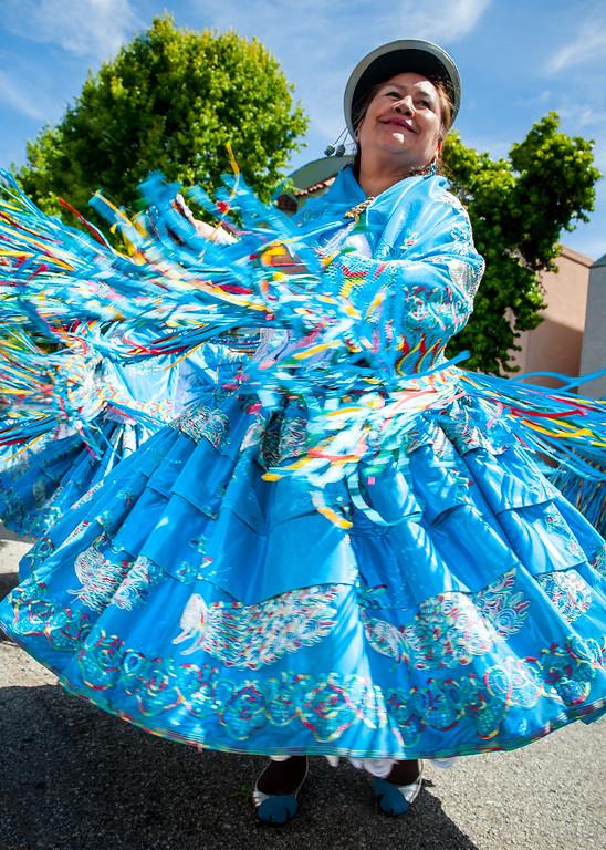 Dancer at SF Carnaval