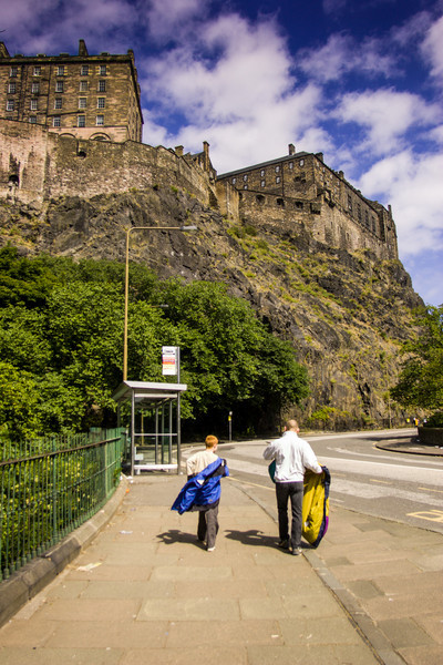 Edinburgh Castle, Scotland<br /> Edinburgh Castle, Scotland