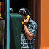 <strong><center><b>I just called to say.....<br> A small village outside Guanajuato, Mexico. A man making a phone call. Not a common sight anymore, since almost everyone have their mobile phones. We don't know what he said, but may be it was I just called to say I love you…. but probably in Spanish; Sólo llamé a decir te quiero
