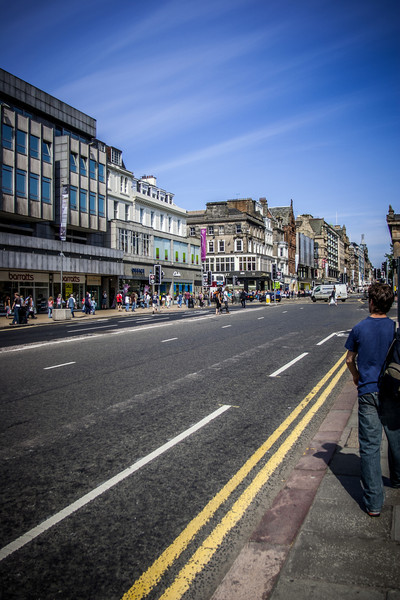 Princes St, Edinburgh<br /> Princes St, Edinburgh