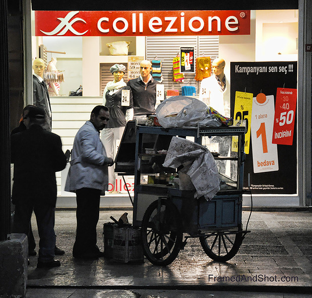 Istanbul Streets Vendor