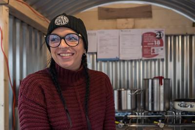 Fiona at The Nut Hut :-)