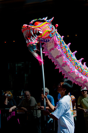 Celebrating Chinese New Year in Sydney Australia.  Photo by: Stephen Hindley©