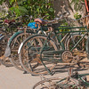 April 22nd - Bikes outside a woodworking factory in Al Quoz, Dubai.