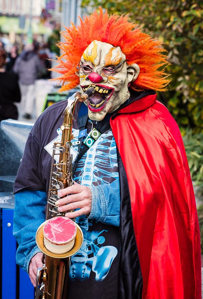 Halloween Street Musician