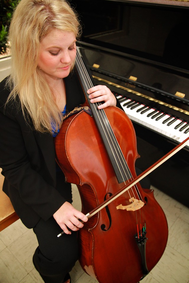 Bonnie Scruggs, Cello; Spring 2015