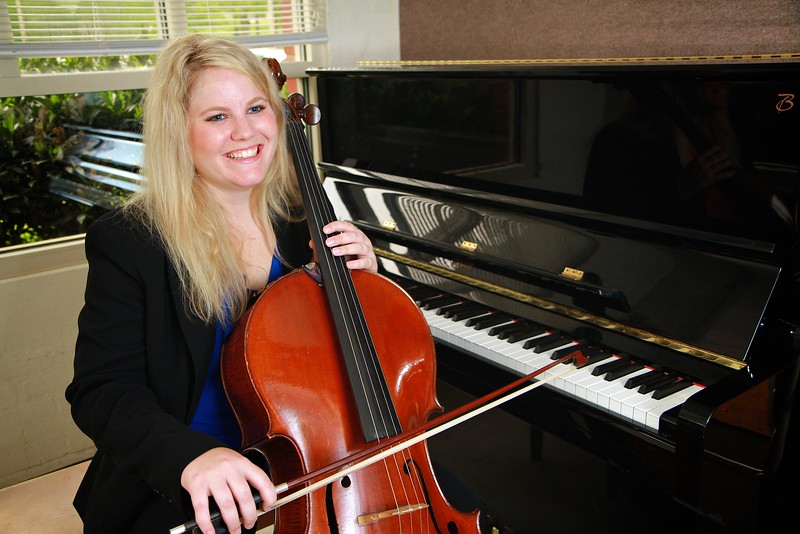 Bonnie Scruggs, Cello; Spring 2015