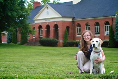 Chelsea Usher and Tucker; Spring 2012